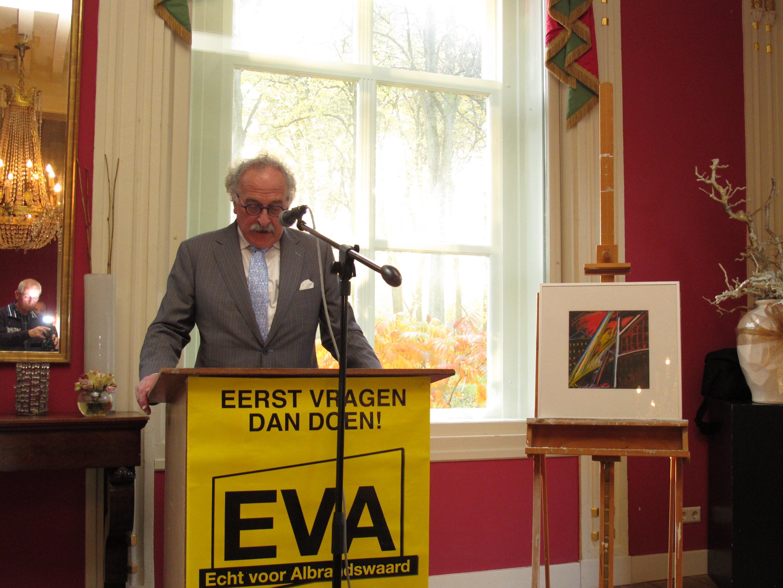 EVA 10 jaar - Afscheid Bert Euser